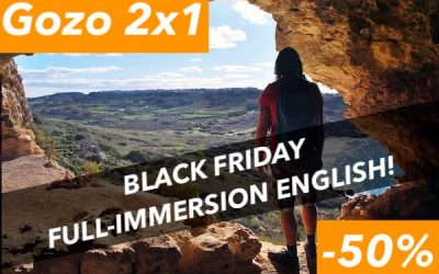 Corso di Inglese all'Estero offerta Black Friday