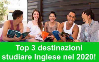 3 migliori destinazioni per studiare Inglese 2020